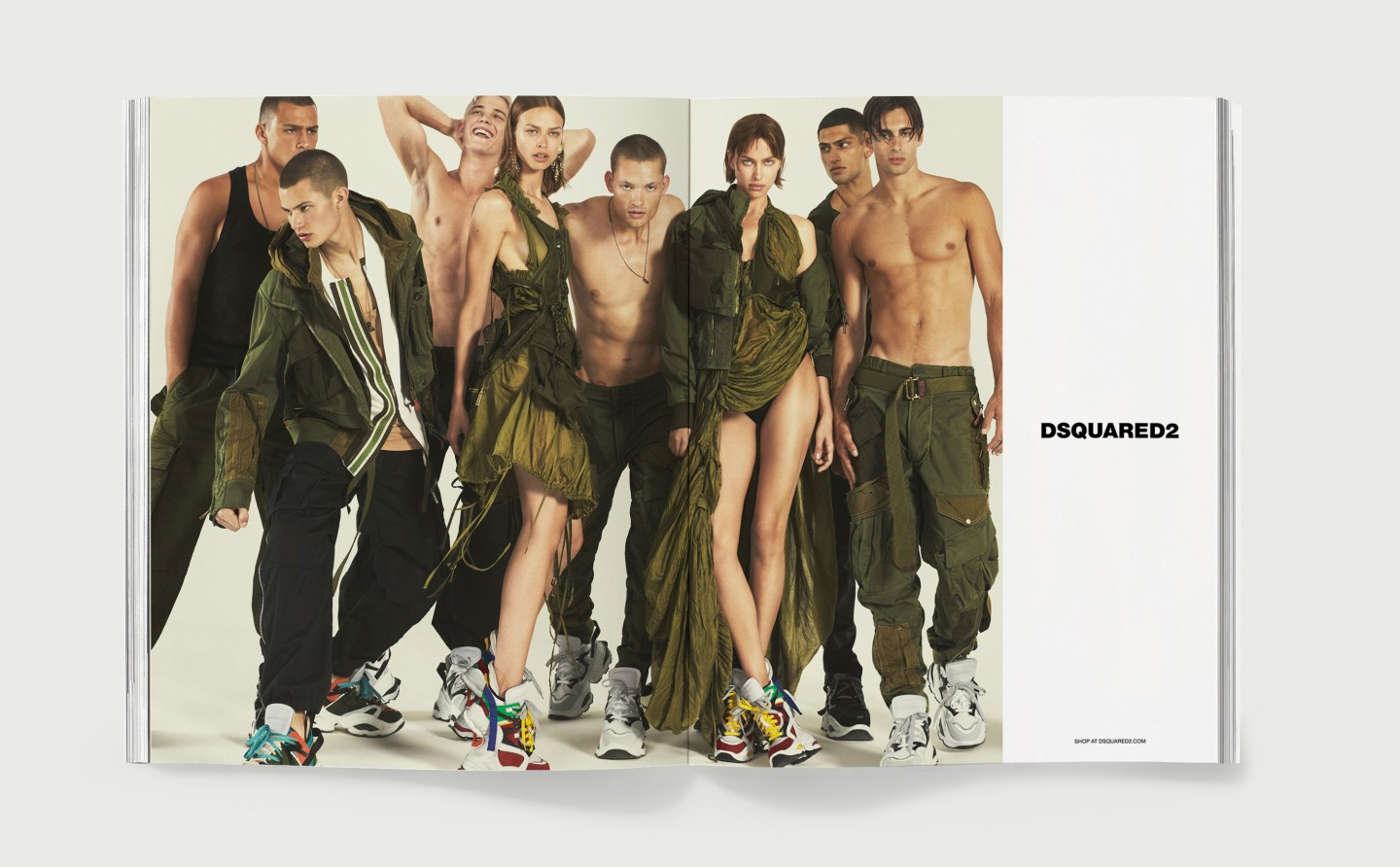 d343c0252b4b Dsquared2: Spring Summer 2019. Campaign